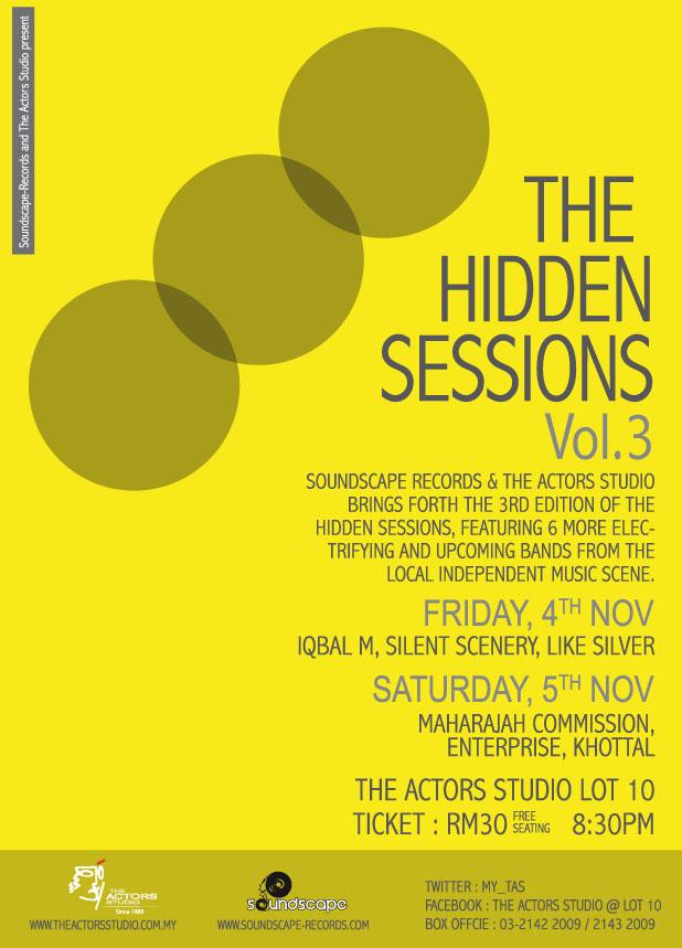 The Hidden Sessions Vol 3