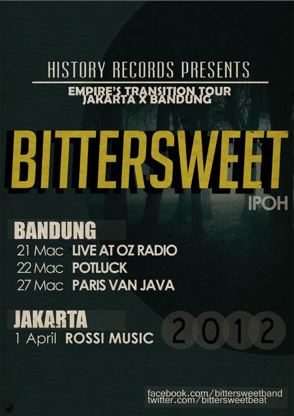 Bittersweet Jakarta Bandung Tour 2012