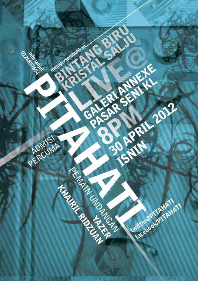 Pitahati EP Launch, 30/4 @ Annexe Gallery KL