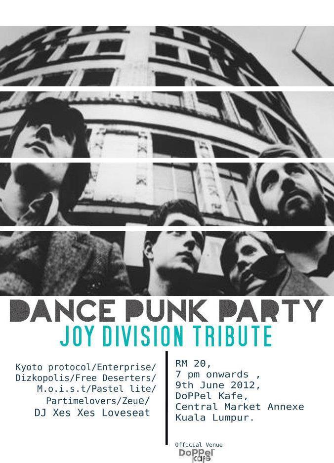 Dance Punk Party presents: Joy Division Tribute, 9/6
