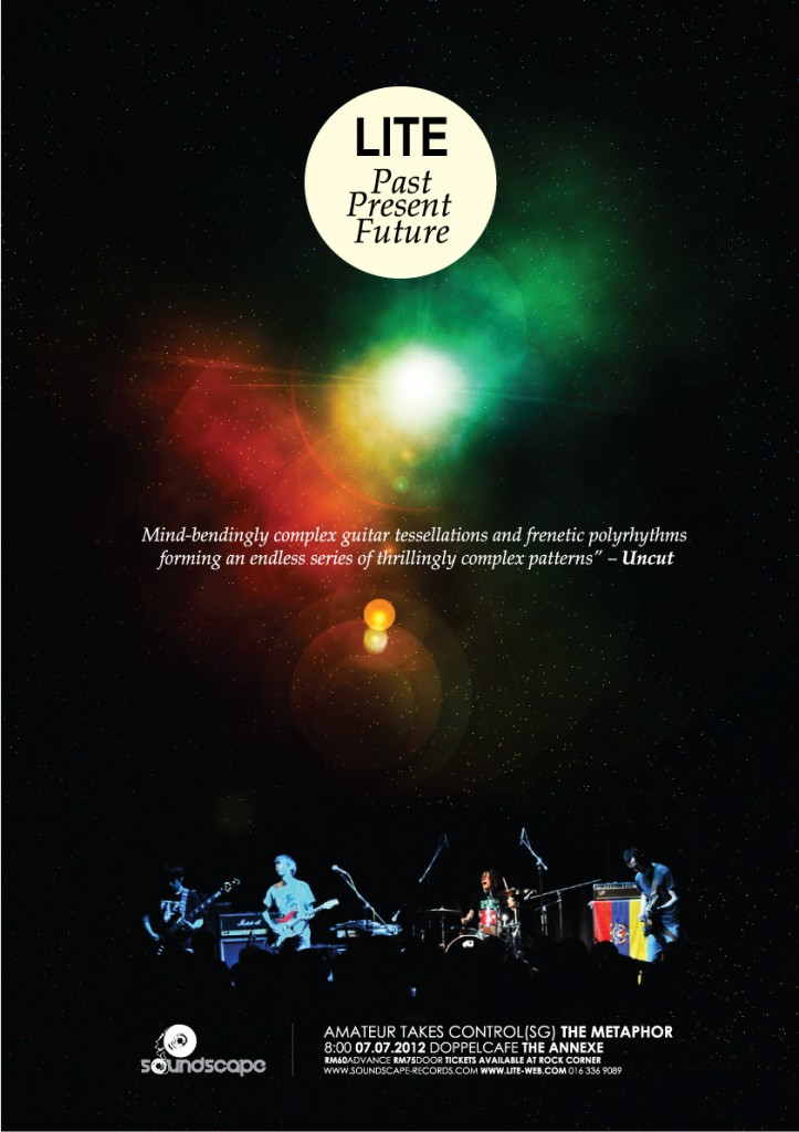 Lite live in Kuala Lumpur , 7/7/2012
