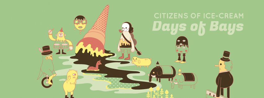 Citizens of Ice Cream - Straits of Forgotten States