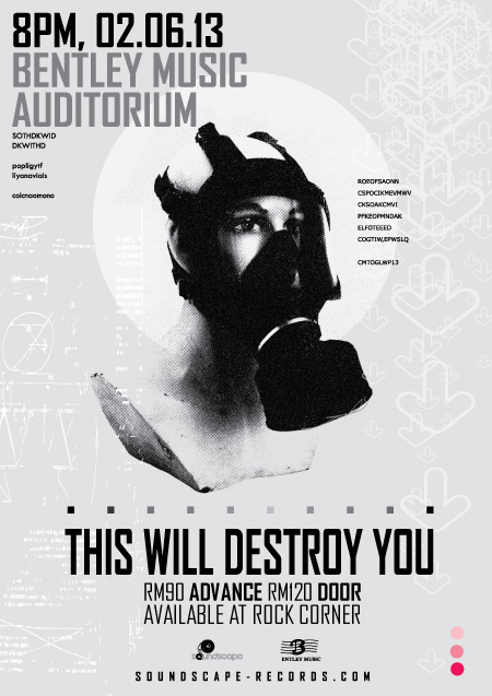 They Will Destroy You Live in KL 2013