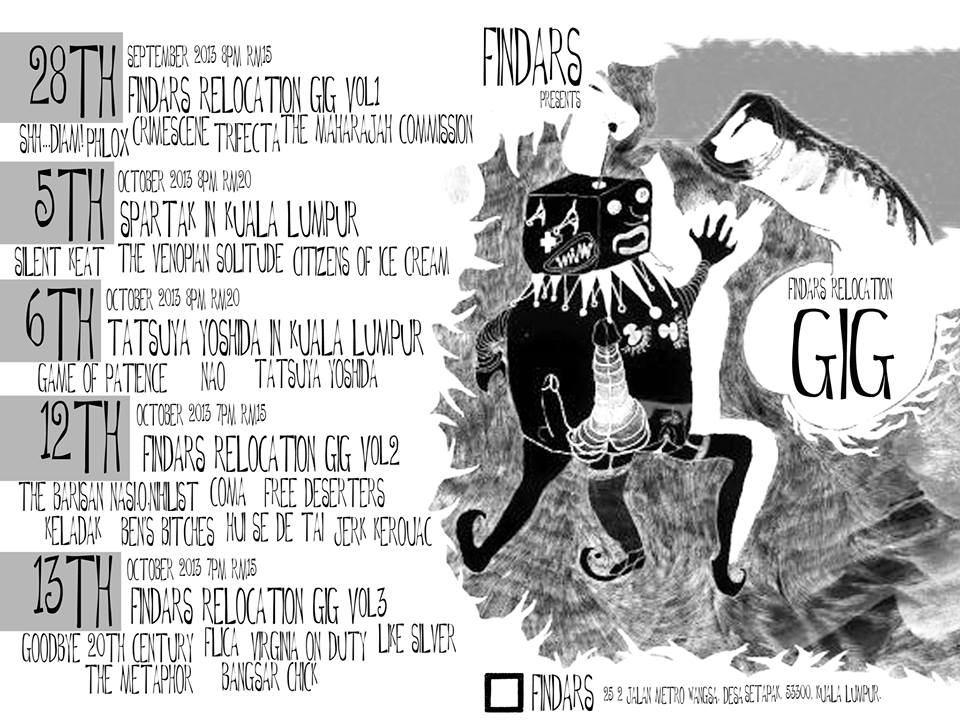 Findars Relocation Gig Series