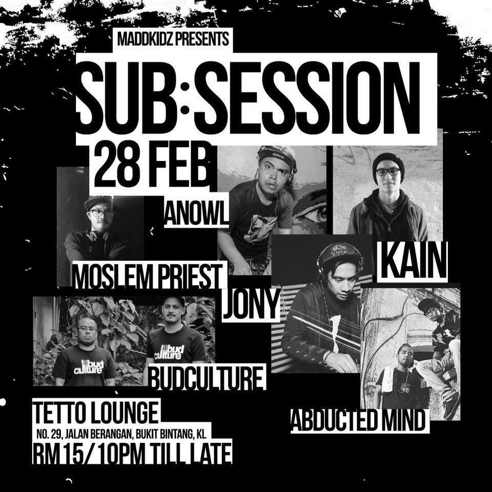 Maddkidz presents Sub:Session